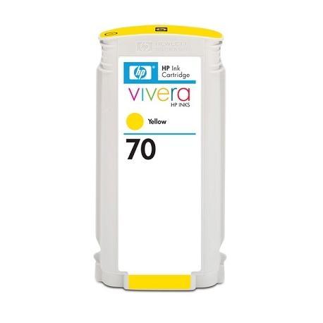 Cartucho de tinta HP 70 Amarillo Compatible