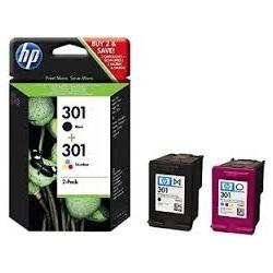 Cartucho de tinta HP 301 Pack 2 BK/C Original