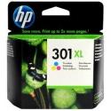 Cartucho de tinta HP 301XL Tricolor Original