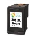 Cartucho de tinta HP 301XL Negro Premium
