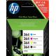 Cartucho de tinta HP 364 Pack 4 colores Original