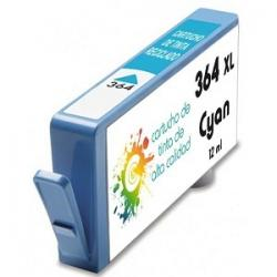 Cartucho de tinta HP 364XL Cyan Premium