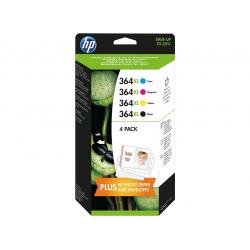 Tinta HP 364XL Pack 4 colores Original