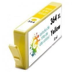 Cartucho de tinta HP 364XL Amarillo Premium